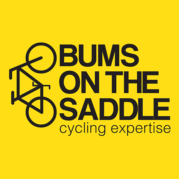 BUMS ON THE SADDLE Logo