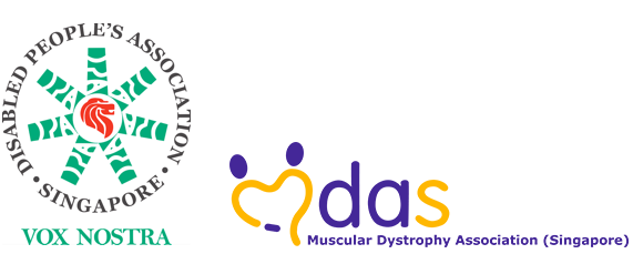 DISABLED PEOPLE'S ASSOCIATION & MUSCULAR DYSTROPHY ASSOCIATION Logo