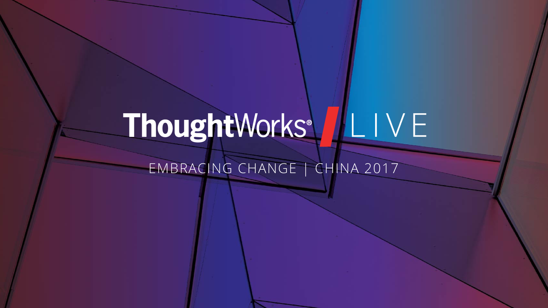 Thoughtworks live 2017 beijing logo