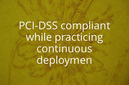 Jez Humble interviews Michael Rembetsy, Director of Operations Engineering at Etsy, which manages to be PCI-DSS compliant while practicing continuous deployment