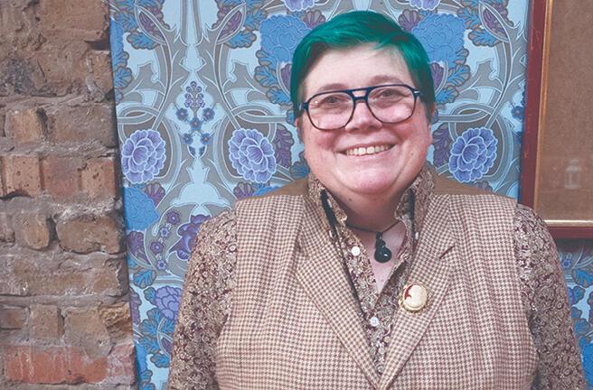 Dr J - author portrait