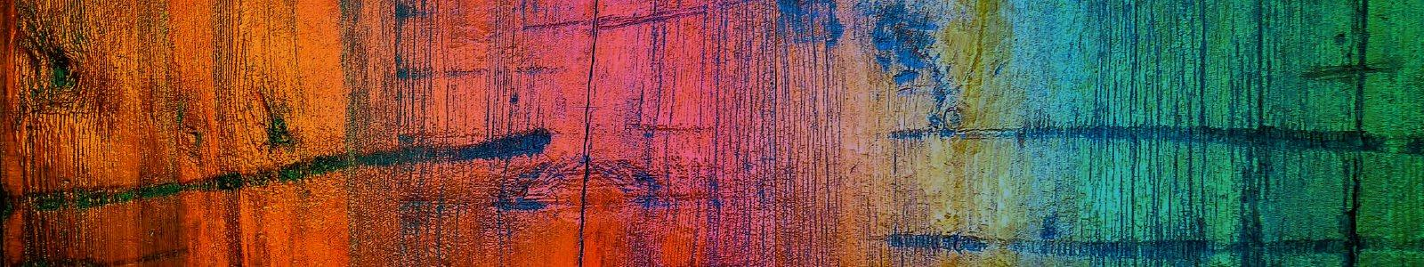 Multicoloured wood grain