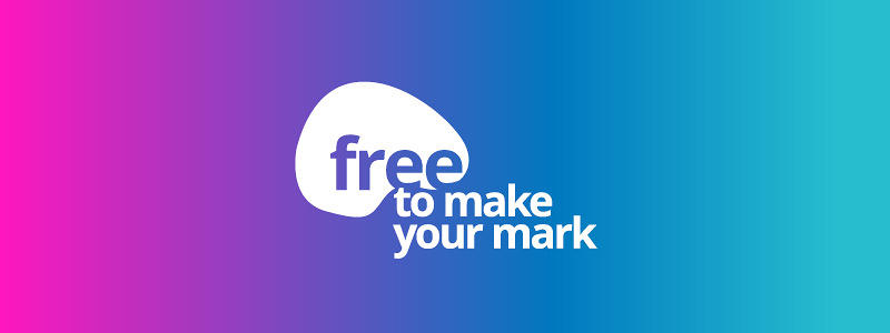 Free to make your mark