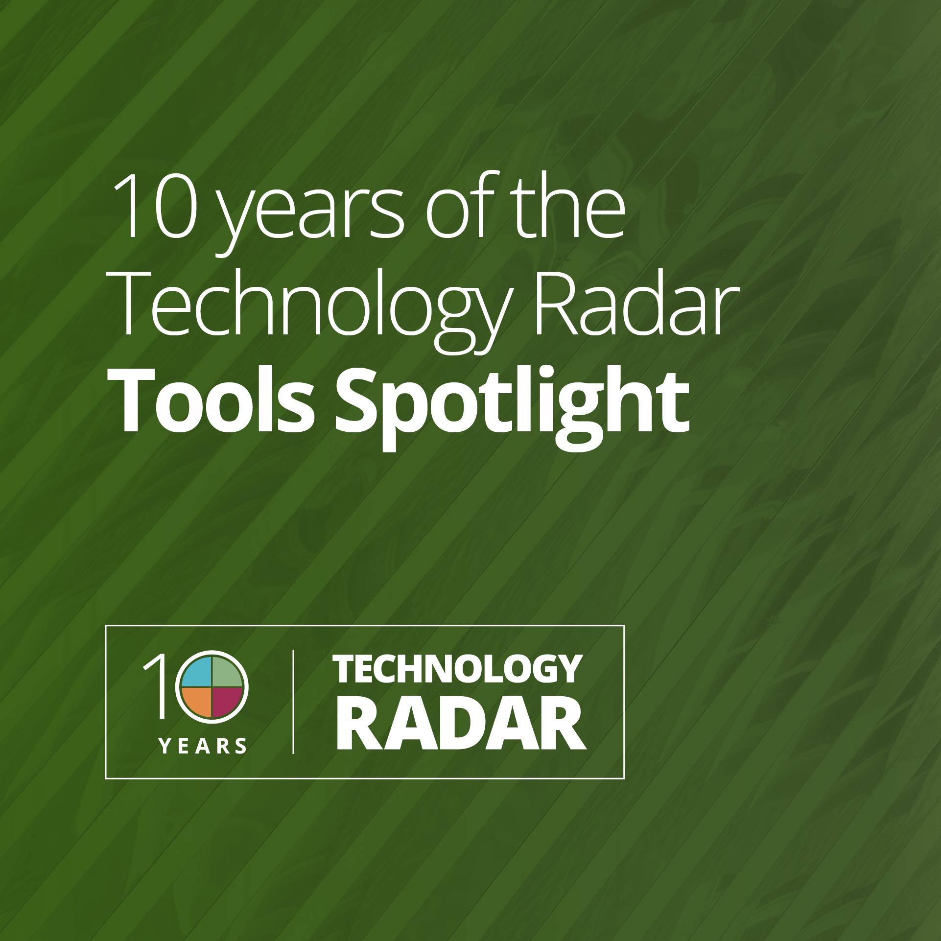 Radar Tools spotlight