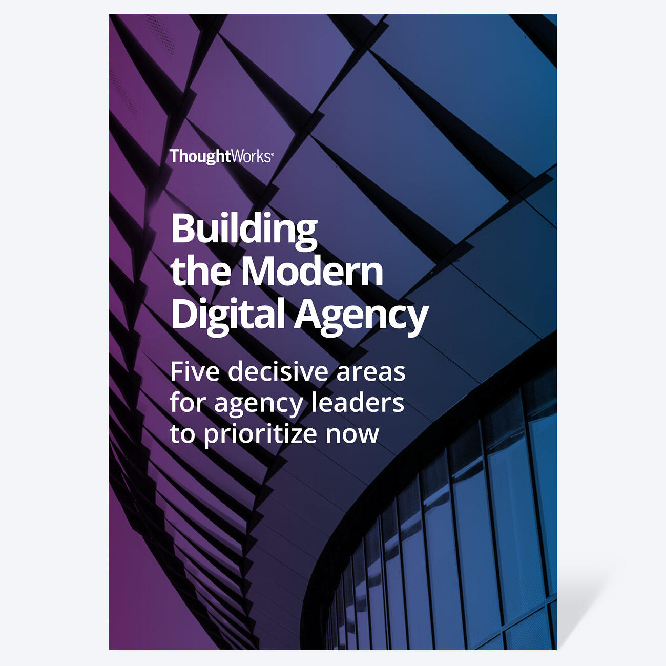 Book cover: Building the Modern Digital Agency