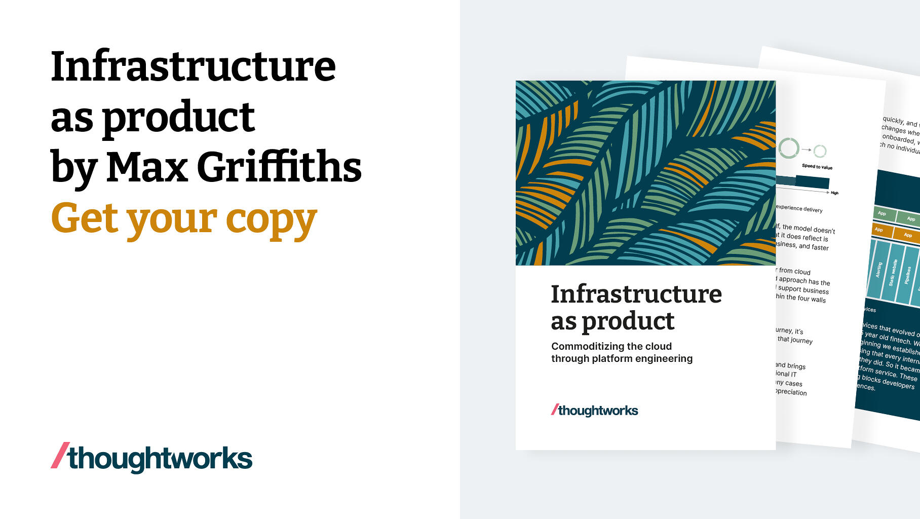 Infrastructure as product