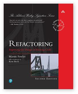 Refactoring por Martin Fowler