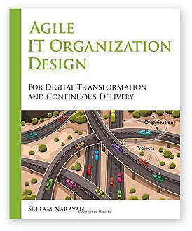 Agile IT Organisation Design by Sriram Narayan