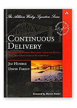 Continuous Delivery by Dave Farley &  Jez Humble, co-authors