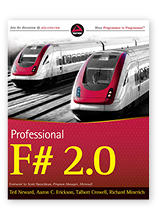 Professional F# 2.0 by Aaron Erickson, co-author