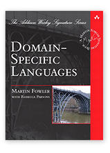 Domain Specific Languages by Martin Fowler & Rebecca Parsons, co-author