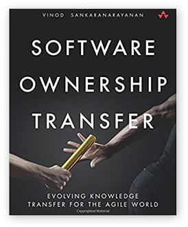 Project Ownership Transfer by Vinod Sankaranarayanan