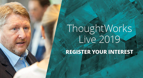 ThoughtWorks Live 2019 | REVOLUTIONARY ENTERPRISES