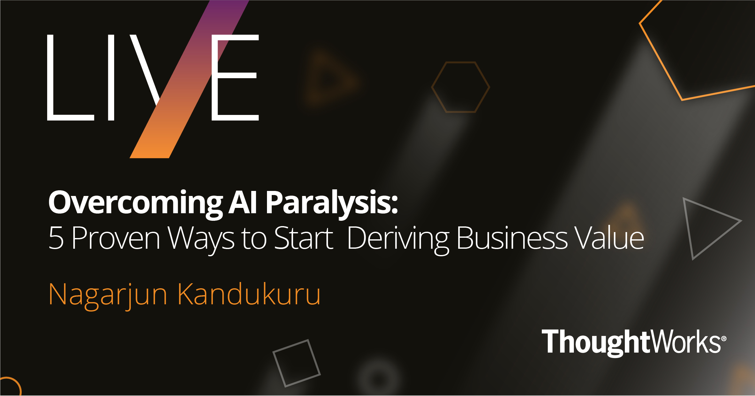 Overcoming AI Paralysis