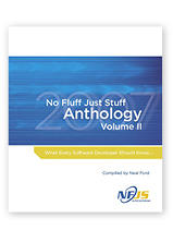 No Fluff Just Stuff Anthology II Neal Ford, editor