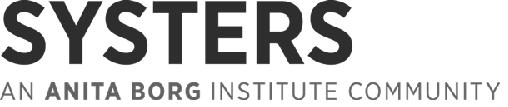 Systers, An Anita Borg Company Logo