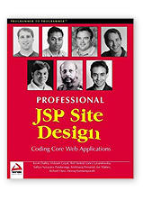 Professional JSP Site Design by Joe Walnes