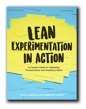 Lean Experimentation in Action  by Maryam Aidini & Kylie Castellaw