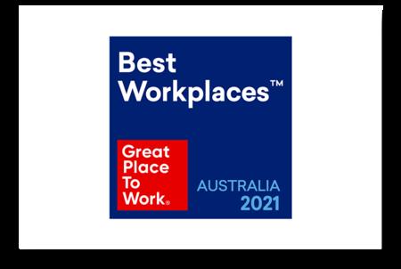 #4 Australia's Best Workplaces List 2021