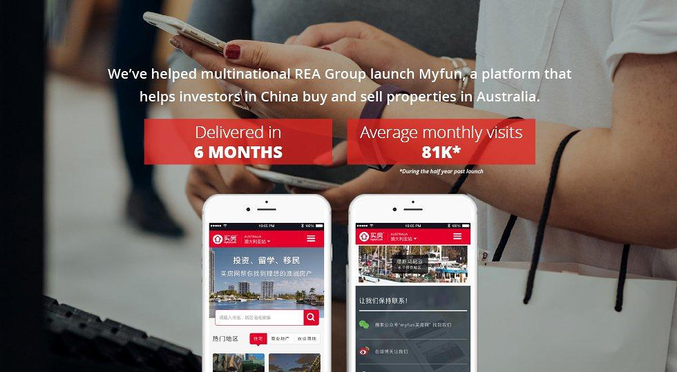 REA Group launches myfun.com in China together with ThoughtWorks