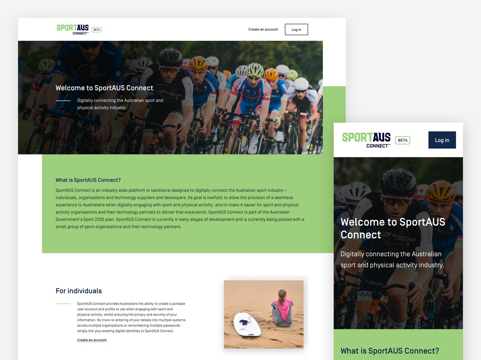 SportAUS Connect Platform