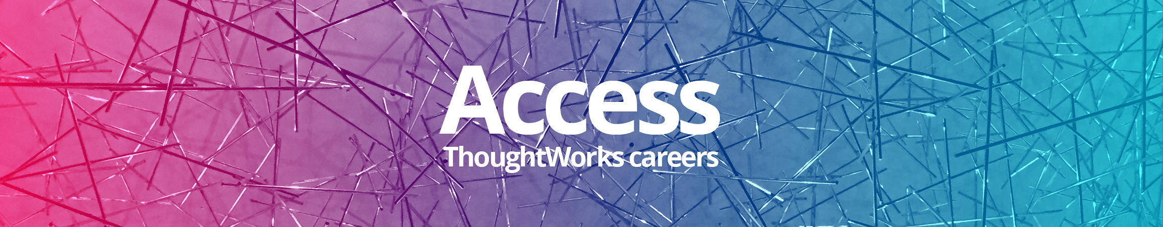 Access ThoughtWorks Careers