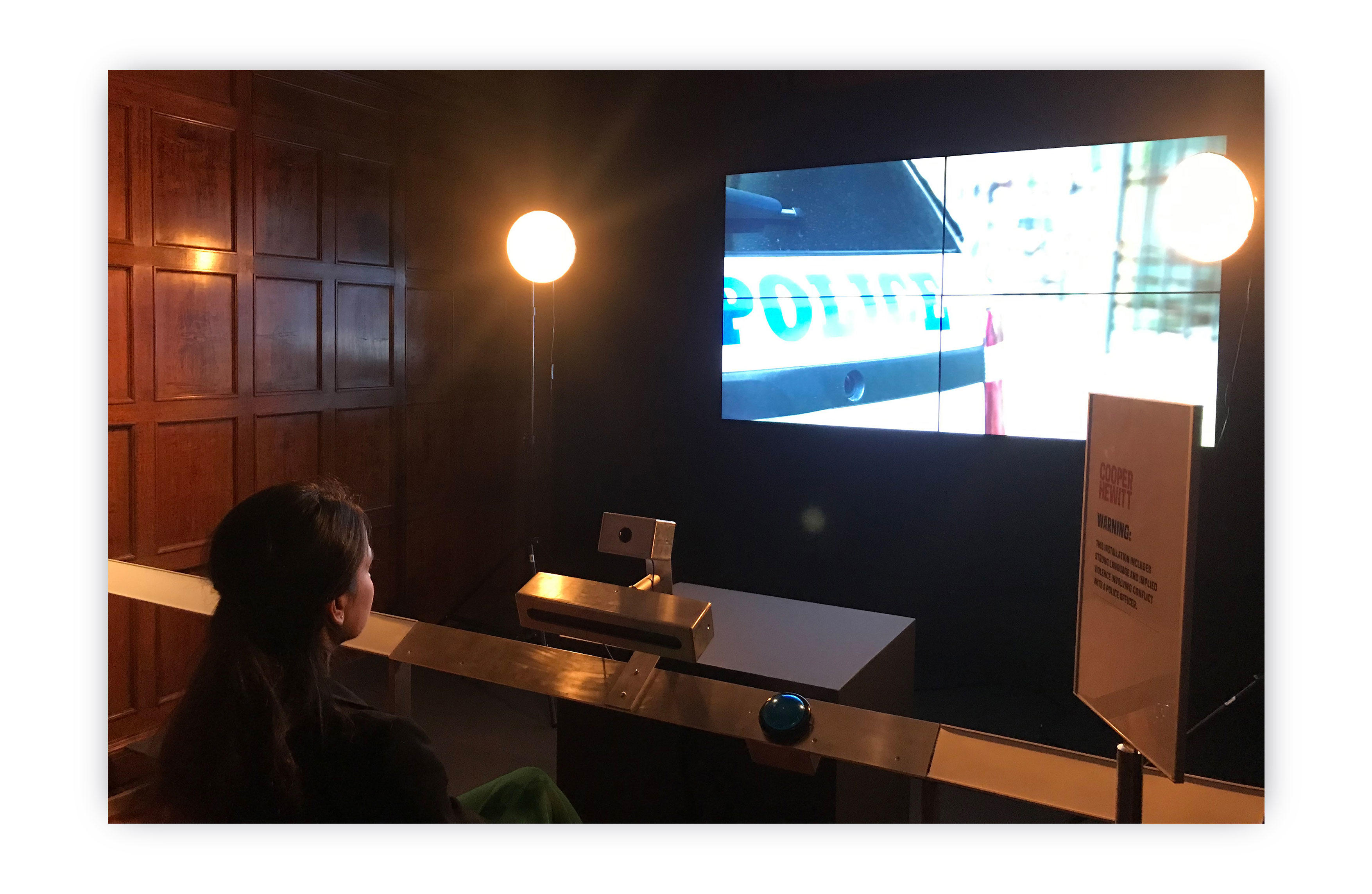 "Photo - ""Perception IO"" exhibited at the Cooper Hewitt Smithsonian Design Museum, New York"