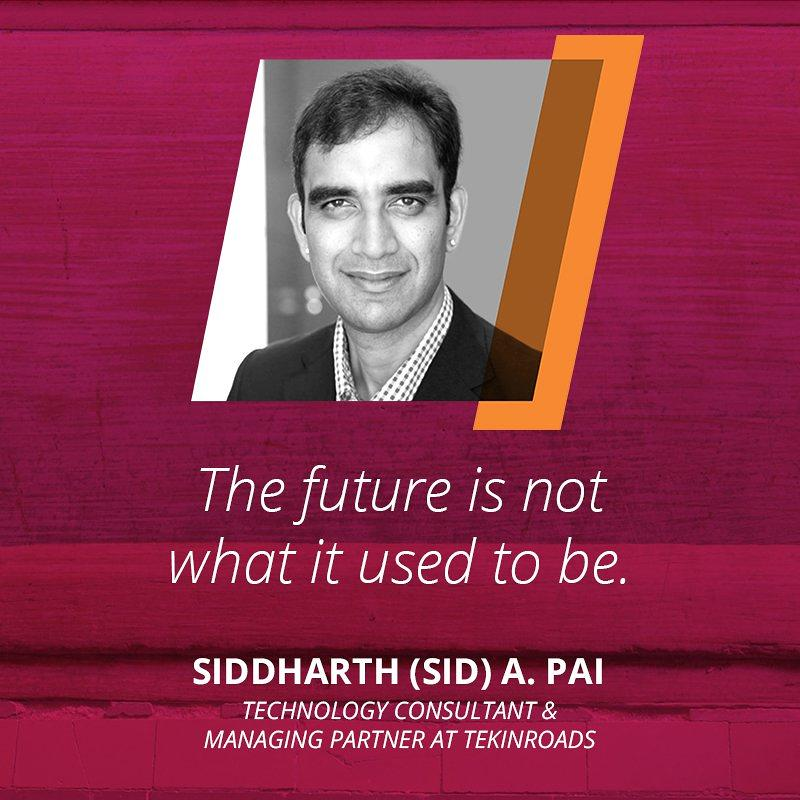 Sid Pai TWLive India 2017