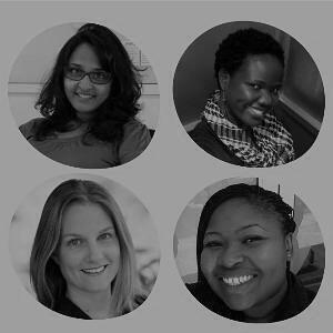 Gayathri Rao, Fiona Byarugaba, Brigitte Britten-Kelly & Beatrice Jonah