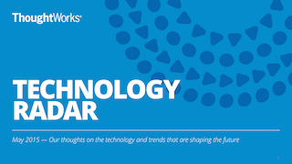 Technology Radar Roadshow logo