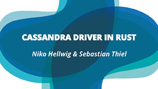 Cassandra Driver in Rust