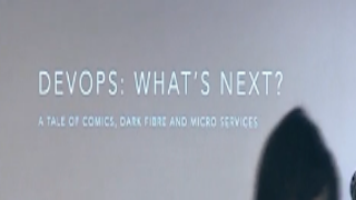 Introducing NetOps: A tale of dark fibre, comics and microservices