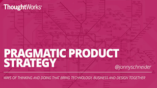 Pragmatic Product Strategy: Integrating Strategy & Execution using the Double Diamond