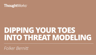 Dipping Your Toes Into Threat Modeling