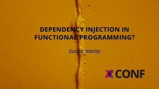 Dependency injection in functional programming?