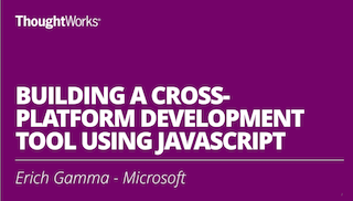 Building a cross-platform development Tool using JavaScript
