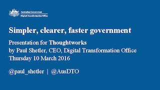 Simpler, Clearer, and Faster Government Services